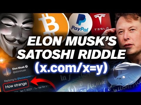 Elon Musk Created BITCOIN!? This Is PROOF He's Satoshi!!