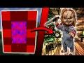 Minecraft COMO hacer un PORTAL a la DIMENSION de CHUCKY | COMO HACER UN PORTAL DE CHUCKY