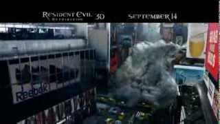 Resident Evil Retribution(2012) - TV Spot #2 (EVIL GOES GLOBAL) 1080P HD