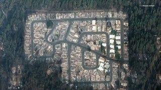 KALIFORNIEN-FEUER: Satellitenbilder zeigen die unglaubliche Zerstörung