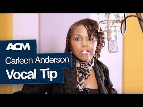 Vocal Tips: Carleen Anderson on Warming Up