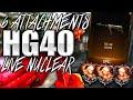 "1 Gun 6 ATTACHMENTS ""HG40 NUCLEAR"" - NEW DLC WEAPON ""HG40 NUCLEAR"" (Black Ops 3 HG40 Nuclear)"
