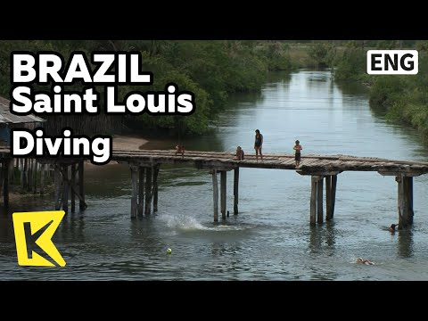 【K】Brazil Travel-Saint Louis[브라질 여행-상루이스]어린 아이들의 아찔한 다이빙/Diving/Children