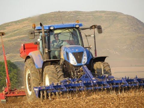 Pressing, Power Harrowing and Drilling
