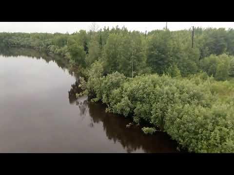 Россия - Сургутский район - Угут - Утро - Река Малый Юган.