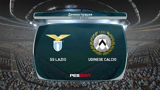 """👍5,000 likes on """"""""udinese vs lazio full highlights (pes 2017)? 🔔turn notifications to never miss an upload!🔔#udinese #lazio 🎧 -"""