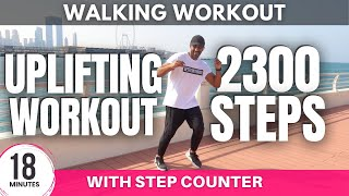Uplifting Walking Workout | Steps at home | Get Fit With Rick