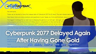 Cyberpunk 2077 Delayed Again By 3 Weeks To December 10 After Going Gold