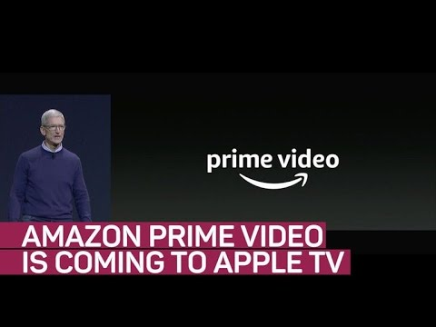 Amazon Prime Video coming to Apple TV (CNET News)