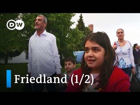 Germany's refugee safe haven - Transit camp Friedland (1/2) | DW Documentary