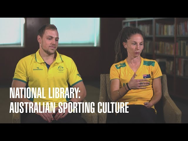 National Library of Australia: Sporting Culture