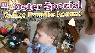 Oster Special | Frohe Ostern - Familie kommt | Ostereier färben | VLog #74 marieland