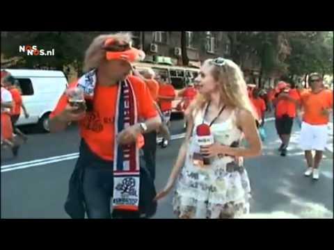 Nederlanders verpesten opname Oekraïense tv (NOS)   Dutch fans ruin Ukranian television recording