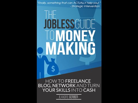 The Jobless Guide To Money Making - Amazon Book Title