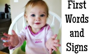 Baby's First Words and Signs