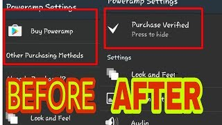How to hake poweramp without root