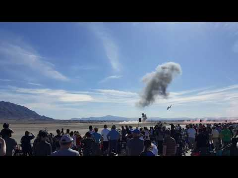 Simulated attack on Nellis Air Force Base, Airshow Air & Space exhibit 11/11/17.