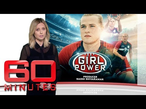 Should Transgender Athlete Hannah Mouncey Be Allowed To Play In The AFLW? | 60 Minutes Australia