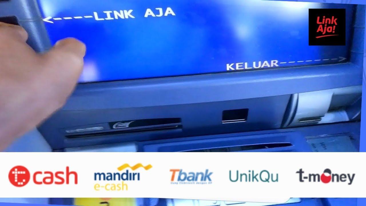 Top Up Isi Ulang Saldo Linkaja Via Atm Bank Mandiri Youtube