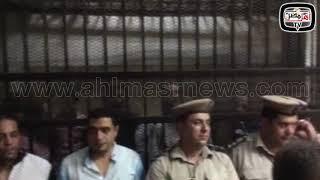 أهل مصر | بدء أولى جلسات محاكمة المتهم بقتل طفليه بميت سلسيل في الدقهلية