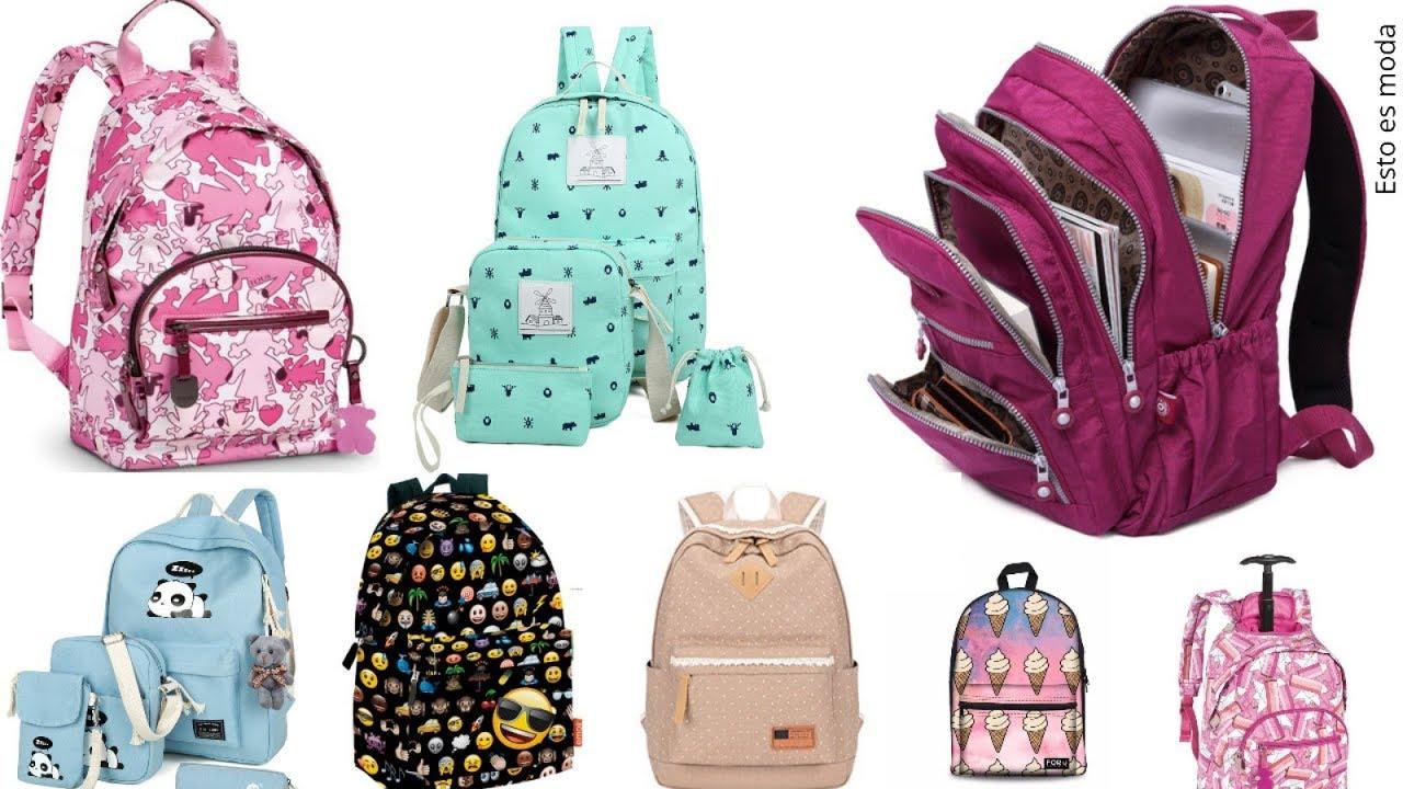 el más nuevo 43a4c 29568 Mochilas juveniles para ir a la escuela, muy bonitas!! ❤️ Tendencias de  moda 2018 instituto colegio