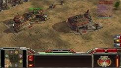 Command & Conquer Generals Zero Hour Let's Play Skirmish 1 vs. 7 (Brutal) German