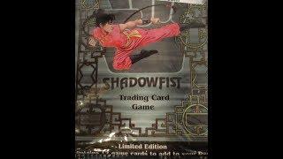What's Inside -  Shadowfist TCG Booster Packs (Daedalus Entertainment)