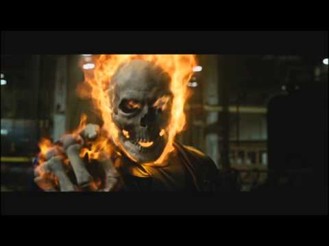 Ghost Rider: The First Transformation scene