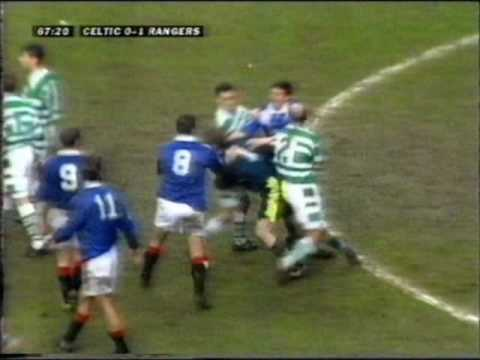 Celtic 0 - Rangers 1 - March 1997 - Hateley's Coming Home