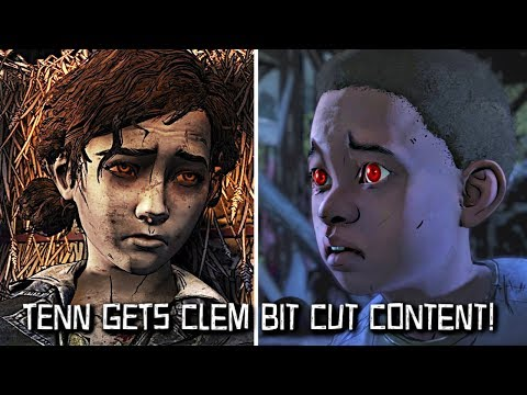 "Tenn Gets Clementine Bitten -  The Walking Dead:Season 4 Episode 4 ""Take us Back"" - The Final Season"