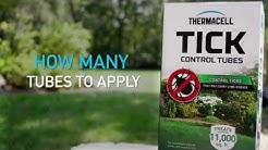 How Thermacell Tick Control Tubes Work with Tick Expert Tom Mather