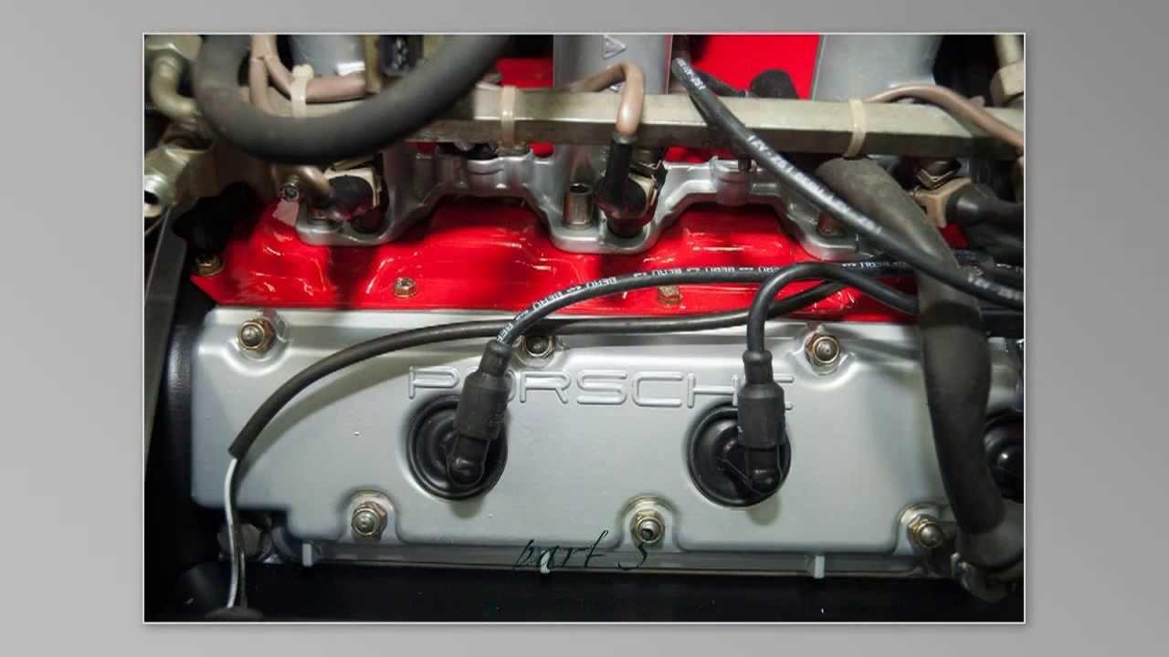 Porsche 3 2 engine rebuild - YouTube