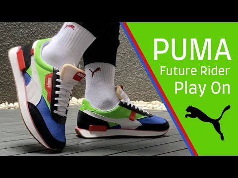Perseo Reanimar Carteles  Puma Future Rider Play On
