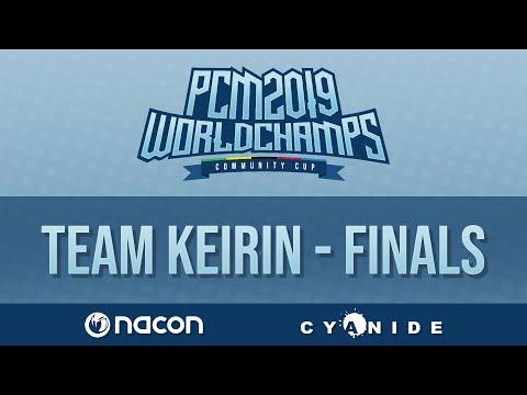 Pro Cycling Manager 2019 World Championships | Team Keirin | Quarterfinals | Match 3 |