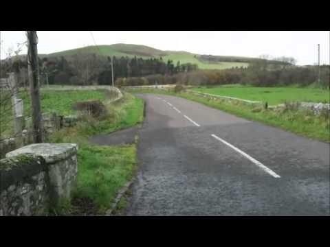 Walking in the Cheviot hills - Kirknewton-Hethpool Linn