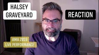 HALSEY LIVE performance of GRAVEYARD at the AMA's 2019: REACTION now!