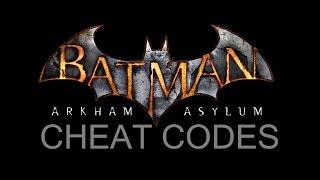COM; Batman; Arkham Asylum; Command Cheat Codes