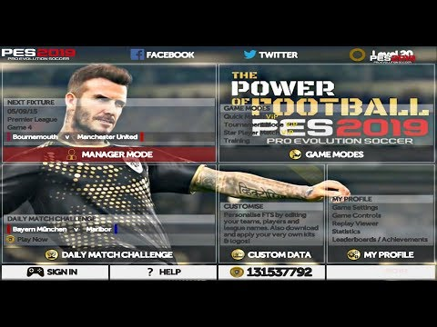 Game Android Offline FTS Mod PES 2019 New Transfer Best Graphics Link + Cara Install - 동영상