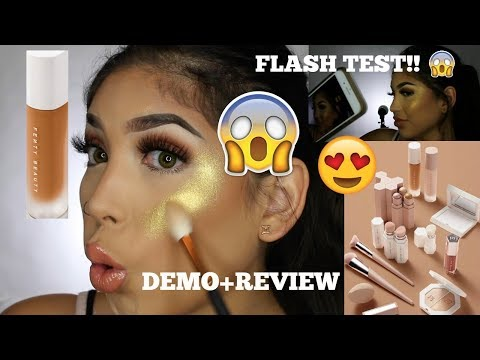 FENTY BEAUTY BY RIHANNA REVIEW+DEMO+FIRST IMPRESSIONS