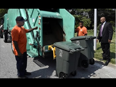 New Garbage Cans for Baltimore City Residents
