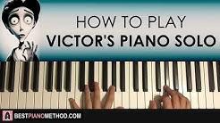 Corpse Bride - Victor's Piano Solo (Piano Tutorial Lesson)
