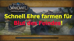 WoW BfA - Schnell Ehre farmen dank K.I.nderspiel Rauferei !