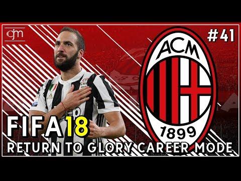 FIFA 18 AC Milan Career Mode: Perebutan Trofi Supercoppa Italiana Lawan Juventus #41