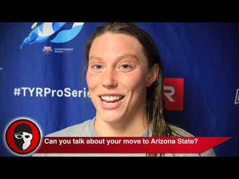 Hali Flickinger Explains Move to Train with Bob Bowman at ASU