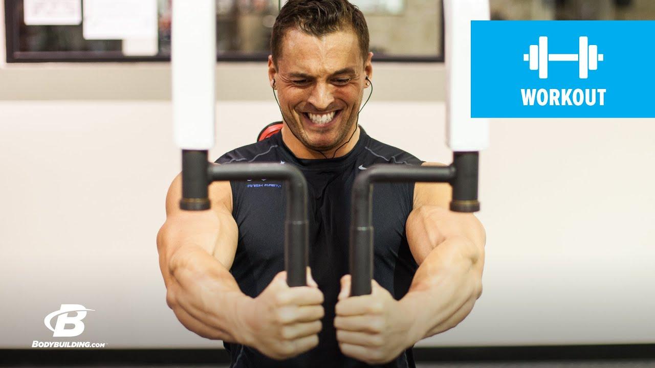 Power Pecs Chest Workout Ryan Hughes Youtube