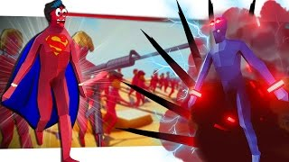 SUPERMAN vs DARKLORD!? | Totally Accurate Battle Simulator (Tabs)