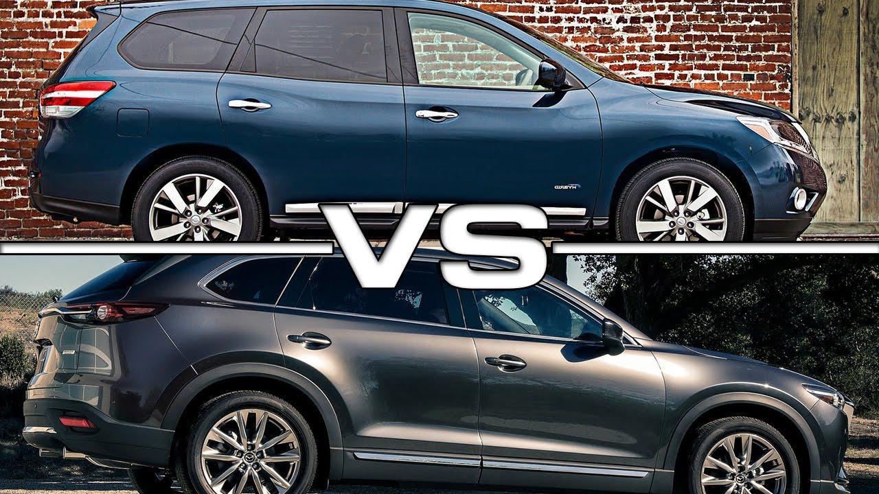 Nissan pathfinder vs mazda cx 9