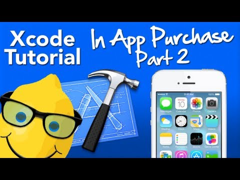 XCode 4.6 Tutorial In App Purchase Part 2 Purchase Item - Geeky Lemon Development