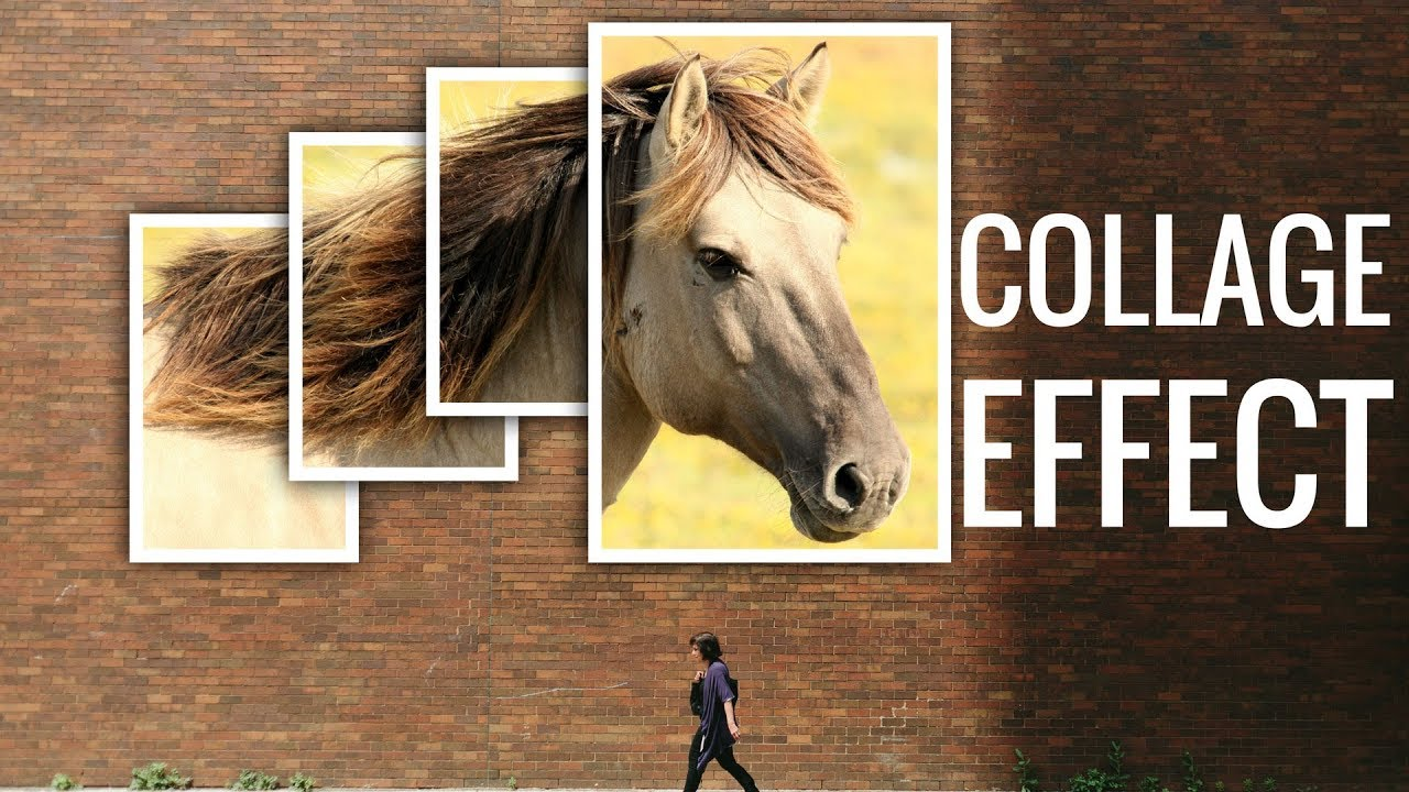 How To Create A Collage Effect In Adobe Photoshop