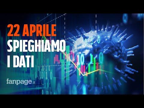 Coronavirus Italia, i dati del 22 aprile: boom di guariti, ma ci sono due cattive notizie